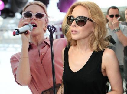 Kylie Minogue pojawiła się w Cannes. Niestety zaliczyła sporą wpadkę