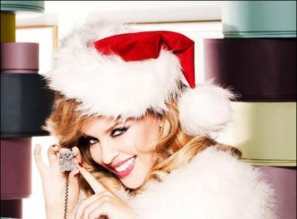 Kylie Minogue w świątecznym wydaniu