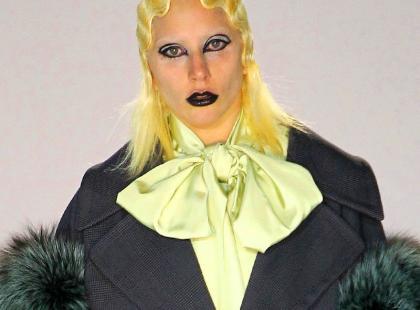 Lady Gaga gwiazdą najmroczniejszego pokazu na NYFW