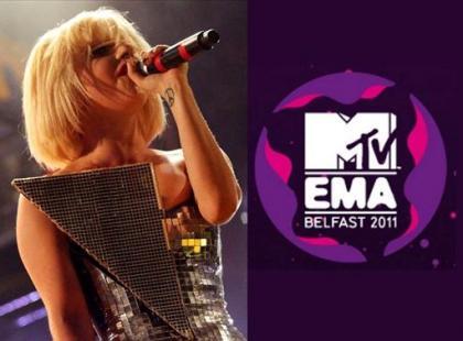 Lady Gaga i Justin Bieber zwycięzcami MTV EMA 2011