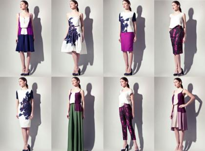 Langner - lookbook na lato 2012