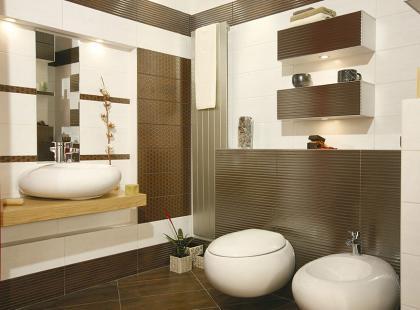 Łazienka inspirowana naturą