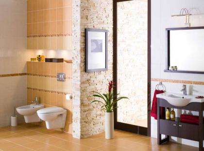 Łazienka w stylu śródziemnomorskim