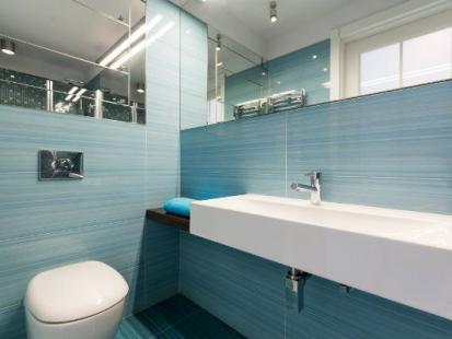 Łazienka w wakacyjnym stylu