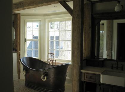Łazienka z niebanalnym widokiem