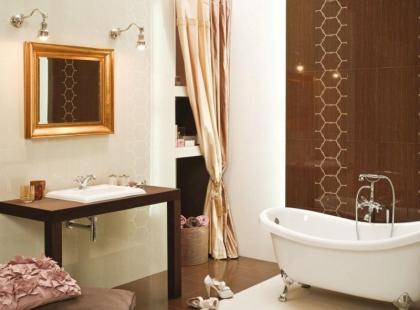 Łazienkowe i kuchenne wnętrza od Ceramstic