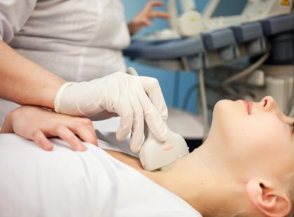 Lekarze uspokajali ją, że to niegroźny guzek na szyi. Diagnoza jednak okazała się inna