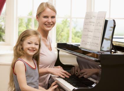 Lekcja muzyki dla najmłodszych