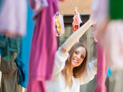 Lekcja segregowania prania
