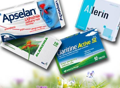 Leki na alergię bez recepty!