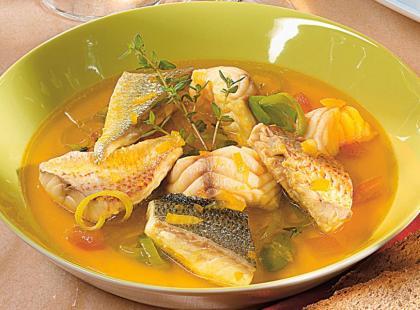 Lekka zupa rybna