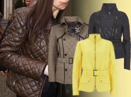 Lekkie pikowane kurtki - wiosna 2012