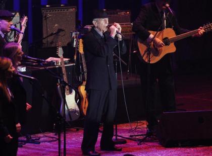 Leonard Cohen wystąpił w Warszawie