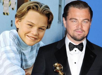 Leonardo DiCaprio skończył 40 lat! Zobaczcie jak się zmieniał!