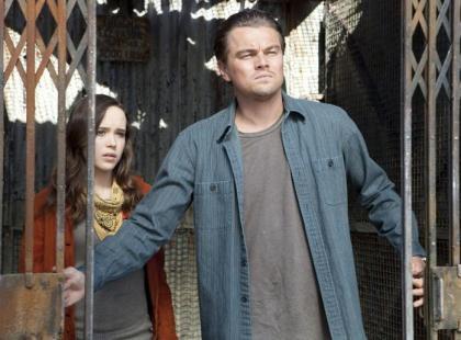 """Leonardo DiCaprio w filmie """"Incepcja"""""""