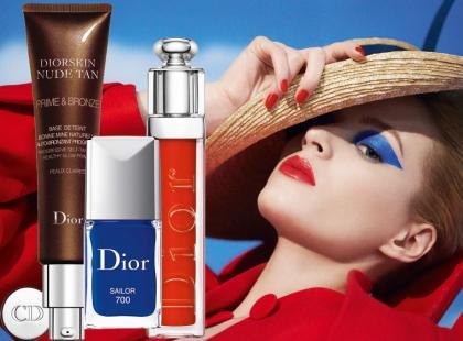 Letnia kolekcja makijażu Dior Transat 2014