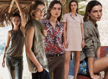 Letnie propozycje od Mango: styl safari