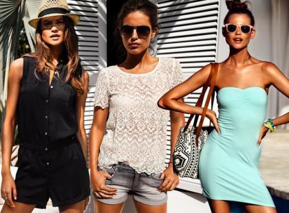 Letnie stylizacje od H&M