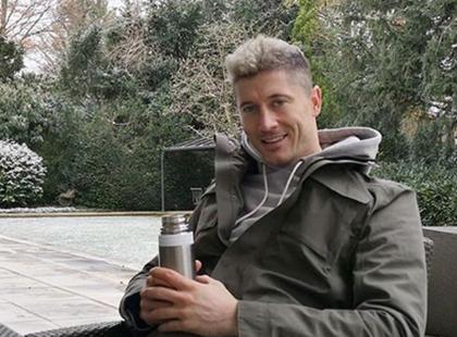 Lewandowski nie jest już blondynem! Jaki teraz ma kolor włosów?