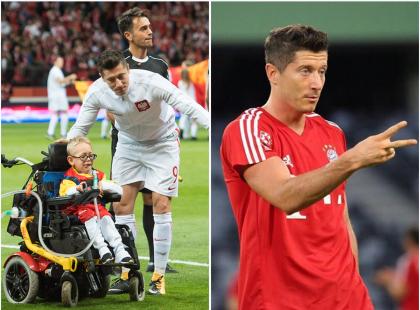 Lewandowski spełnił marzenie Franka. O wzruszajacym geście piłkarza piszą wszystkie media