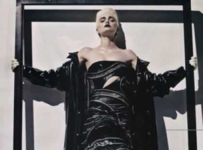 Lily Donaldson a'la Madonna