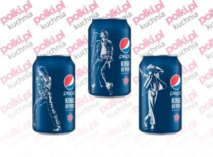 Limitowana kolekcja puszek Pepsi z wizerunkami Michaela Jacksona