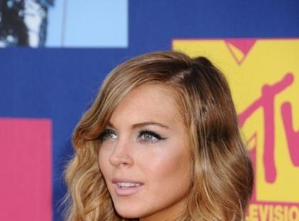 Lindsay Lohan - fryzury i makijaż