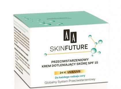 Przeciwstarzeniowy krem dotleniający skórę SPF 15 (do każdego rodzaju skóry)/ fot. AA Oceanic
