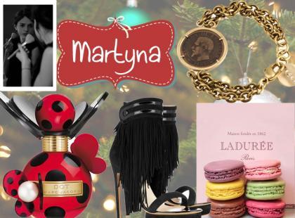 List do św. Mikołaja - Martyny, redaktor mody