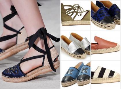#ListaZakupów: modne espadryle na letnie miesiące