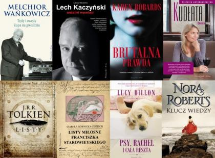 Listopadowe nowości wydawnictwa Prószyński i S-ka
