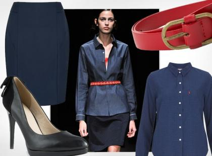 Look z pokazu: modny zestaw do pracy, który stworzysz ze starych ciuchów