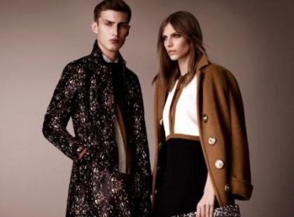 Lookbook Burberry Prorsum na jesień-zima 2012/2013