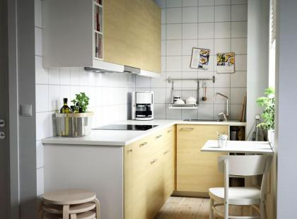 Lookbook IKEA: 10 pomysłów na małąkuchnię