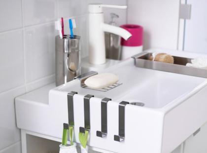 Lookbook IKEA: 10 pomysłów na małą łazienkę