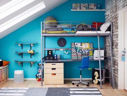Lookbook IKEA: 11 pomysłów na aranżację małej przestrzeni w pokoju dziecięcym