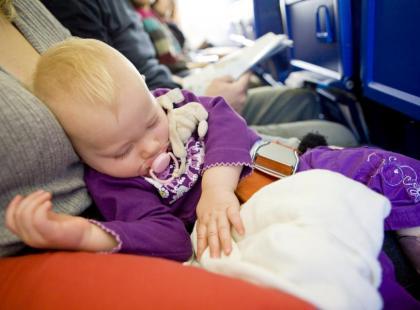Lotnicze prawa matki z dzieckiem
