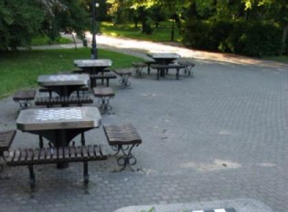 Lubisz szachy? Idź do parku
