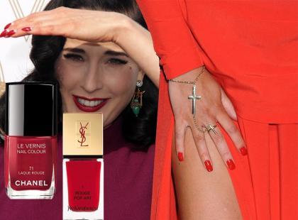Luksusowa czerwień - najbardziej kobiecy z lakierów