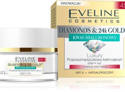 Luxury przeciwzmarszczkowy krem i serum 45+ - Eveline Cosmetics