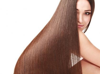 Luźne upięcie bardzo długich włosów