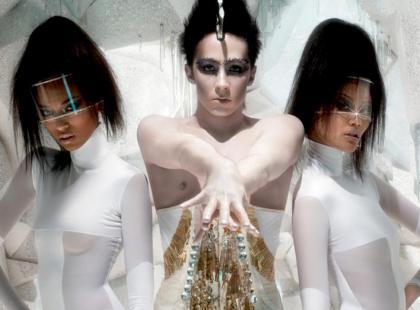MAC Glitter and Ice - makijaż na zimę 2011/12