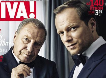 Maciej i Jerzy Stuhr na okładce nowej Vivy!