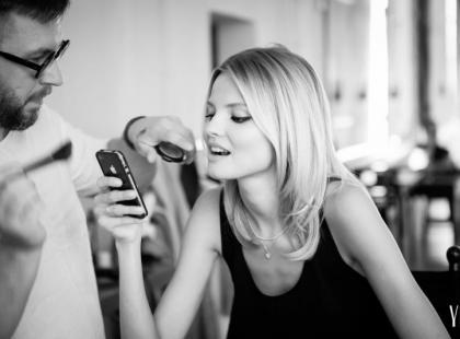 Magdalena Frąckowiak w kalendarzu YES 2013 - zdjęcia z backstage'u!