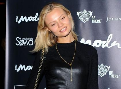 "Magdalena Frąckowiak w ""Top Model 3"""