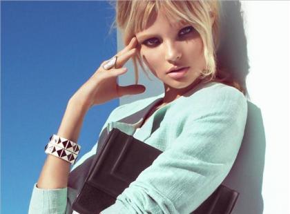 Magdalena Frąckowiak w wiosennym lookbooku H&M!