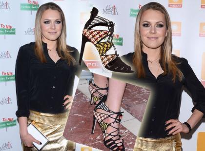 Magdalena Lamparska w glamourowym looku