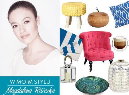 Magdalena Różczka pokazuje piękne meble oraz dodatki!