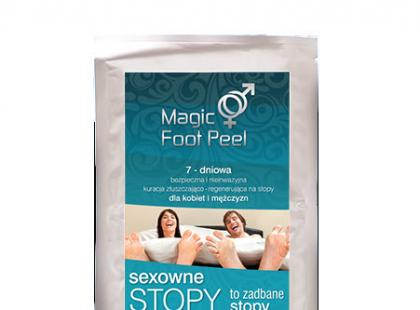Magic Foot Peel - peeling do stóp w formie skarpetek