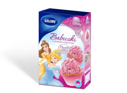 Magiczny świat Disneya z babeczkami Gellwe